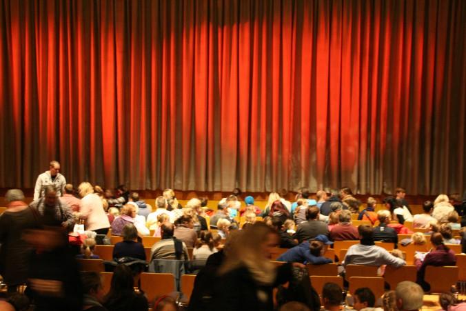 Theatersaal im Fontane-Haus im Märkischen Viertel