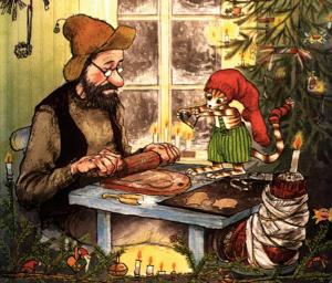 Key Graphic Pettersson kriegt Weihnachtsbesuch