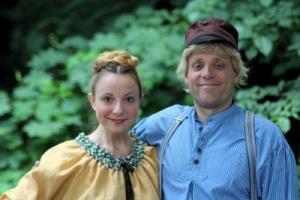 Portrait Alfred und Lina
